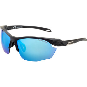 Alpina Twist Five HR CM+ Okulary rowerowe, black matt